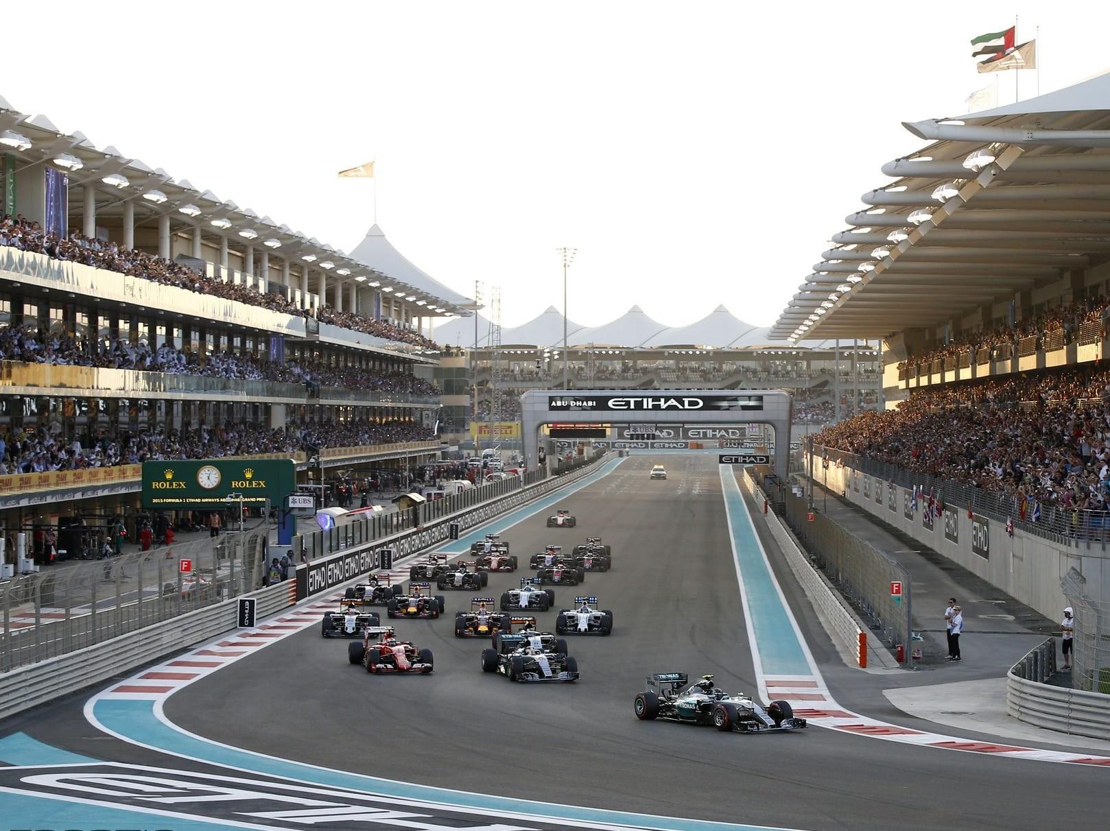 Rosberg makes it a hat-trick at Abu Dhabi