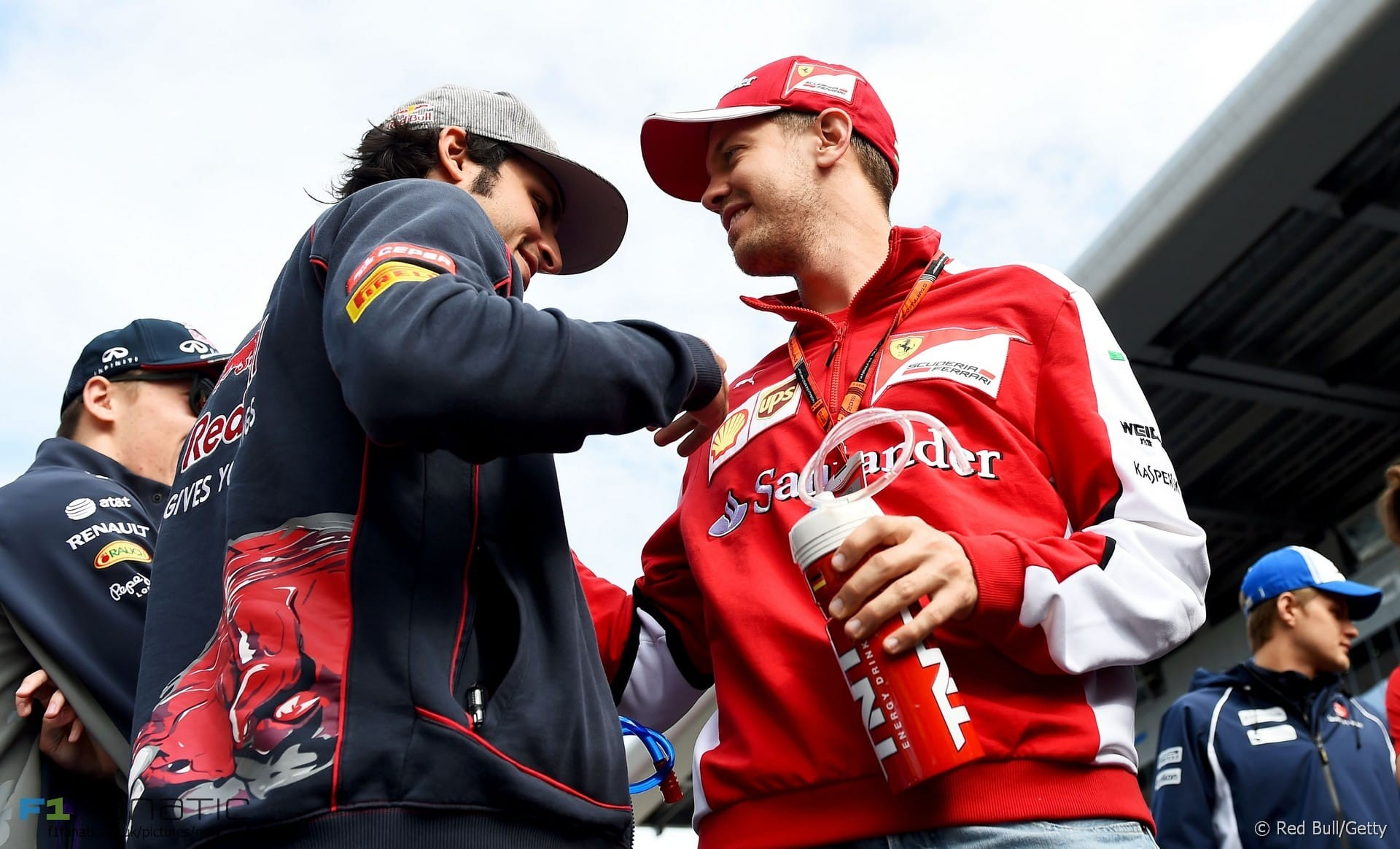 2nd place for Ferrari's Sebastian Vettel at the Russian Grand Prix