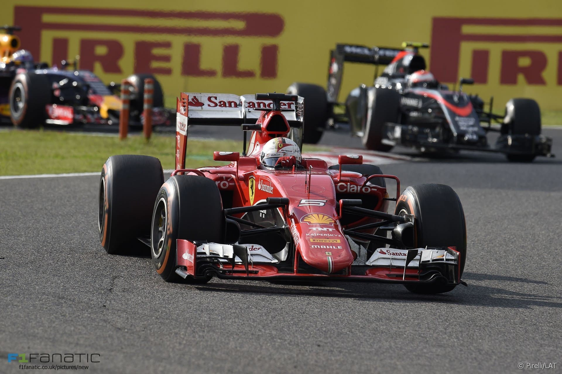 3rd and 4th place for Ferrari at the Japanese Grand Prix