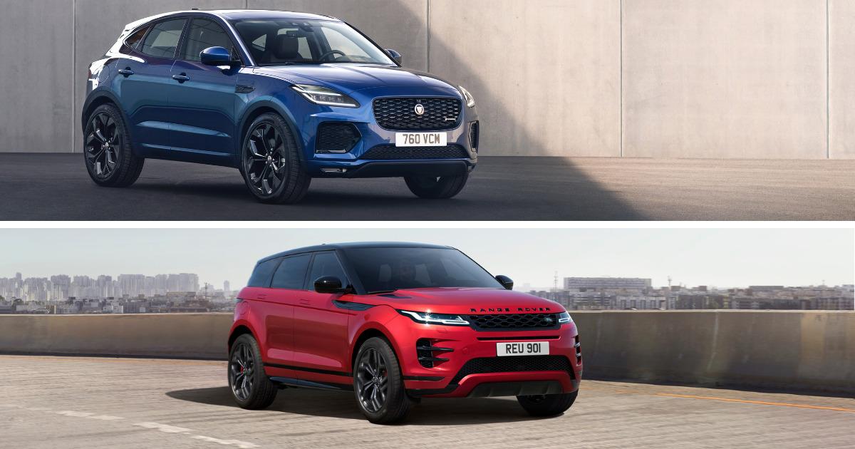 Jaguar E-PACE vs Range Rover Evoque | Dick Lovett Melksham